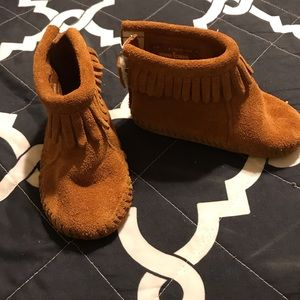 Toddler boy moccasins